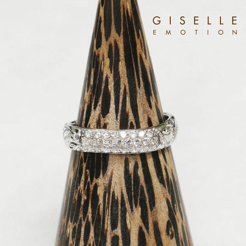 結婚指輪 ハワイアンジュエリー ペアリング『プラチナ900ダイヤモンドリング0.31CT』のアップ画像